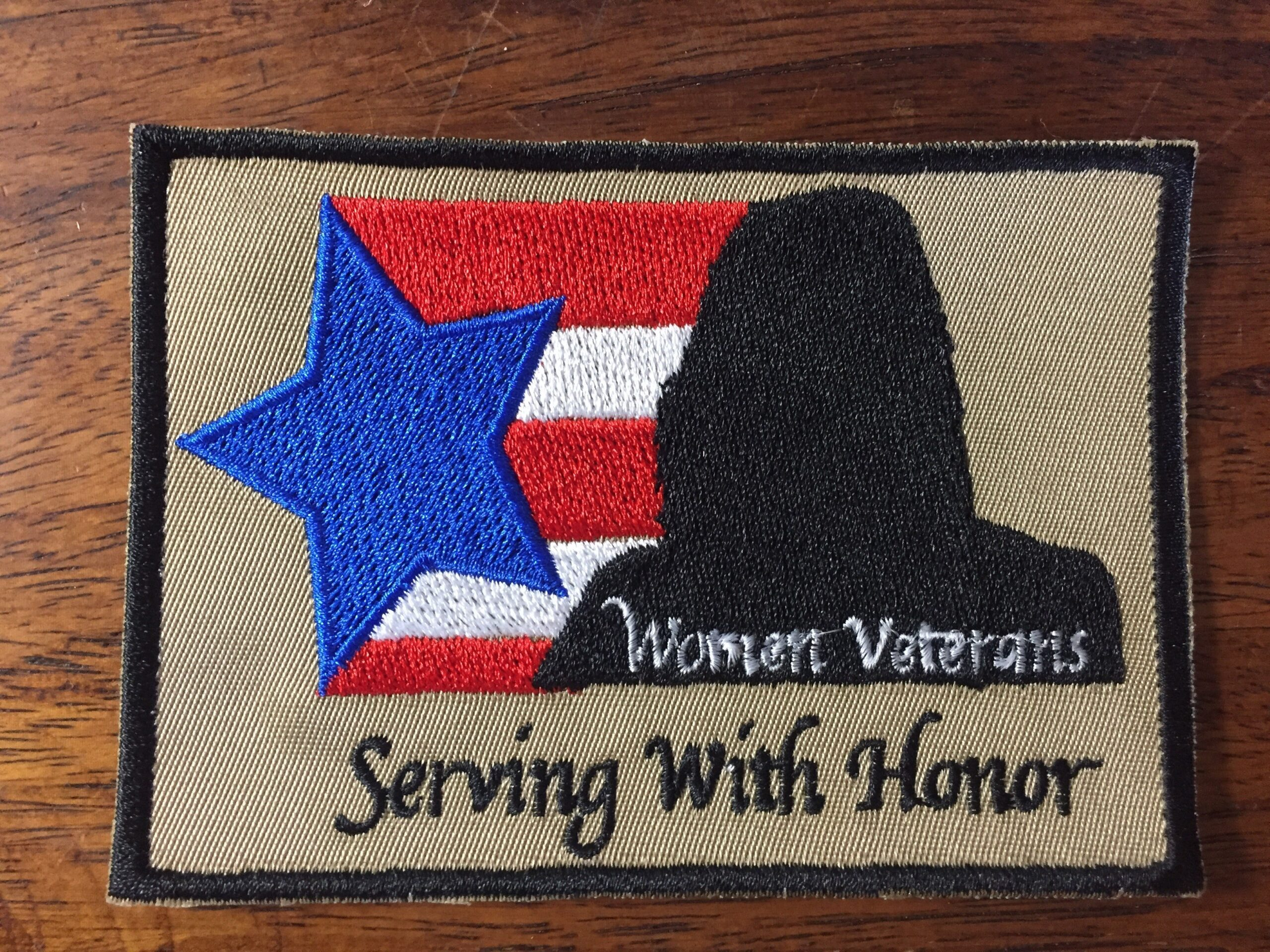 Patch Women Veteran-with-honor